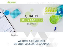 바이오엔시스템스(주)홈페이지 구축